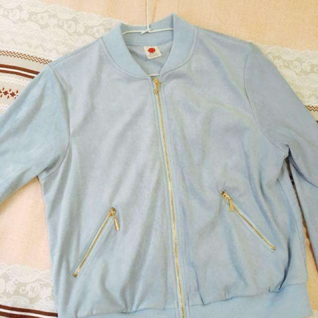 麂皮棒球外套 #雙十一女裝出清