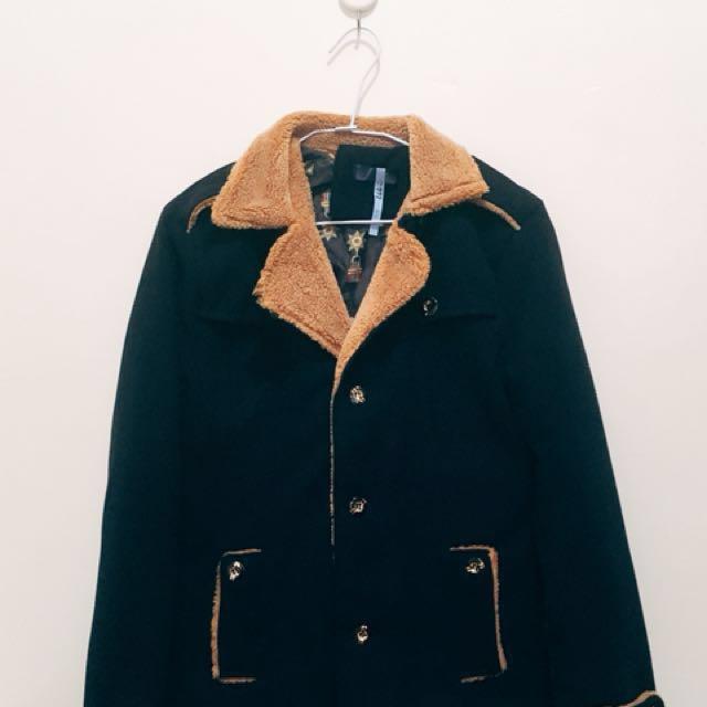 全新 內刷毛保暖西裝外套 #雙十一女裝出清