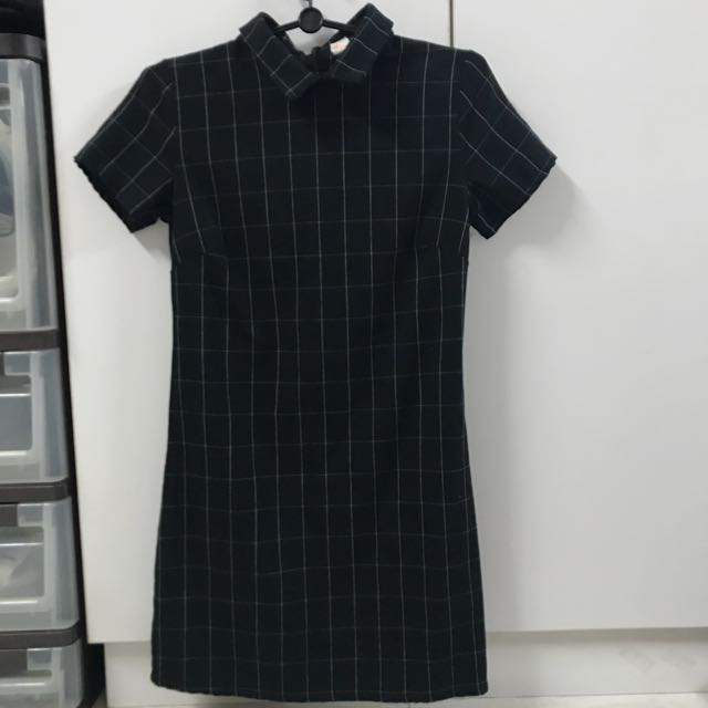 743eccde9 ✨ bnwot grid dress brandy melville, Women's Fashion, Clothes ...