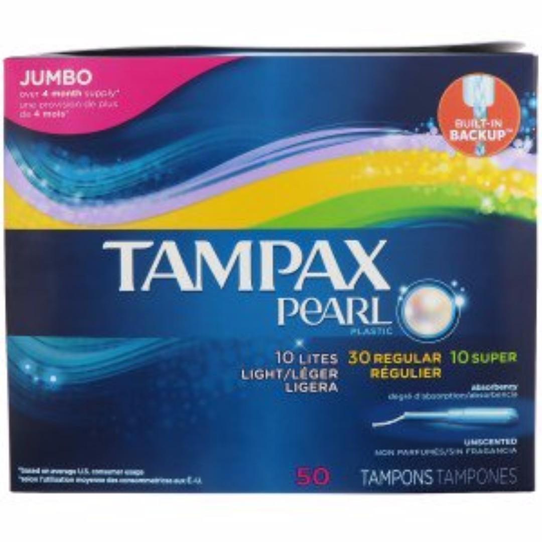 【美國代購】 導管式棉條TAMPAX 舒適棉條 綜合包 50入
