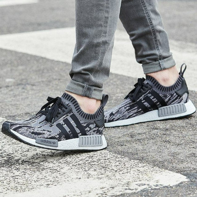 check out 15989 427f9 Adidas NMD R1 PK Glitch Camo