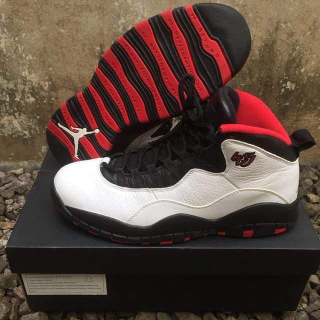Air Jordan 10 Retro - Double Nickle