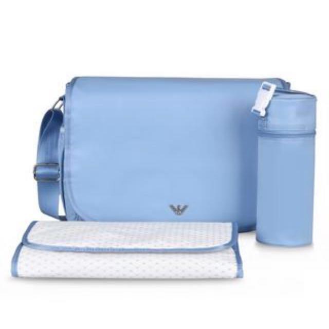 c78c6efc42d8 Armani Junior Baby Diaper Bag - Brand New on Carousell