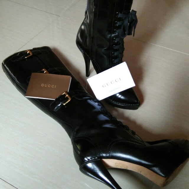 Authentic Gucci High Boots