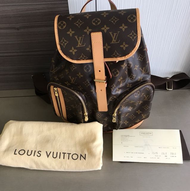 8a5888a2d928a Authentic Louis Vuitton Bosphore Backpack LV