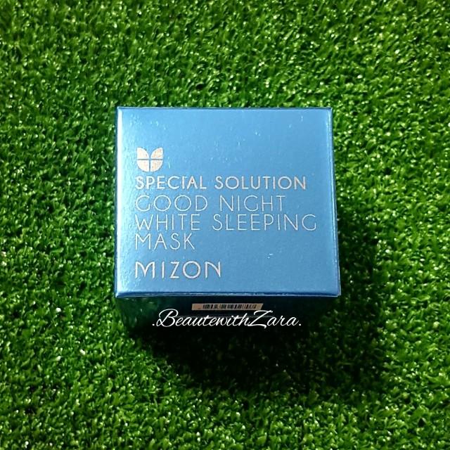 Authentic Mizon Good Night White Sleeping Mask 80ml