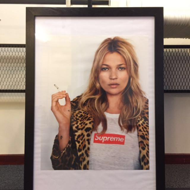 Authentic Supreme Kate Moss Wheat Poster, Everything Else, Others