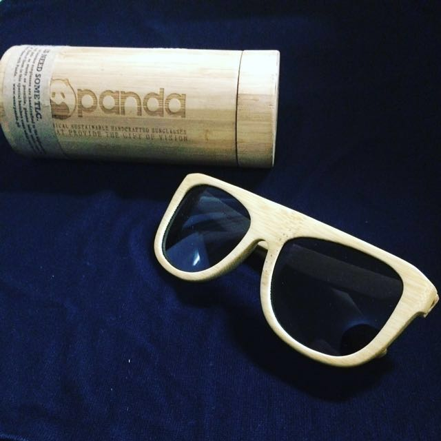 """Authentic""""Martin"""" and""""Nelson"""" Bamboo Sunglasses"""