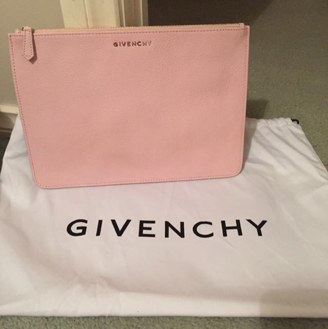 Baby Pink Givenchy Pouch