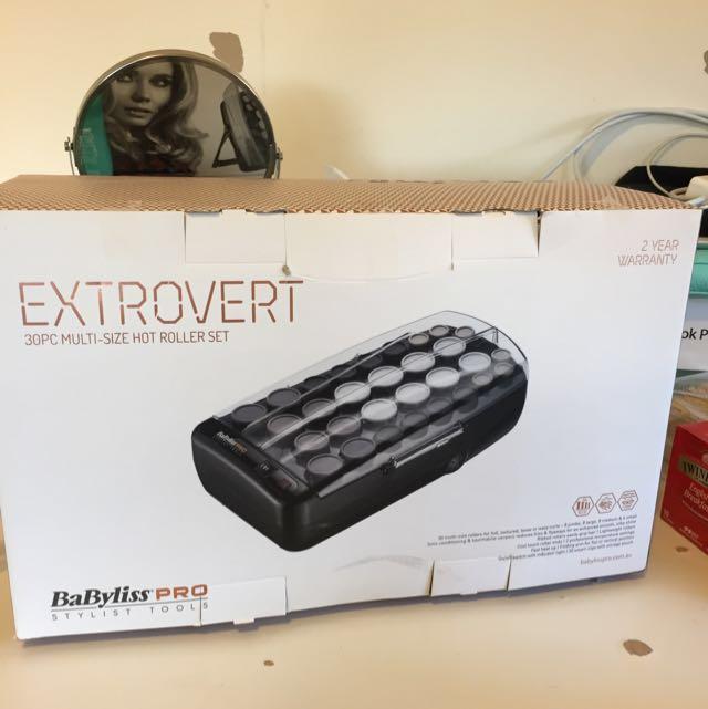 Baybliss Extrovert Hot Roller set