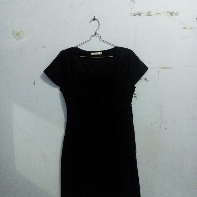 Black Dress Accent fit to XL
