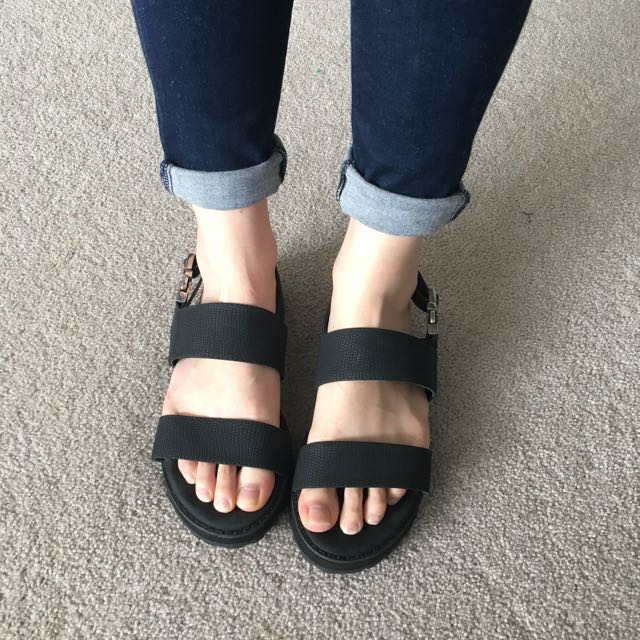 Black Sandals from Glassons