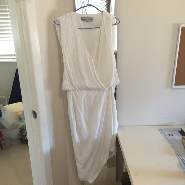 Blessed Are The Meek White Dress