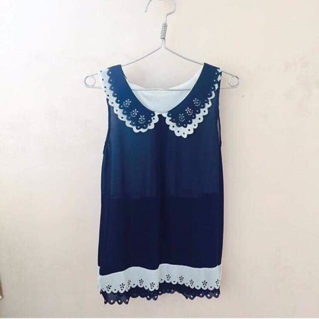 Blue Collar Top