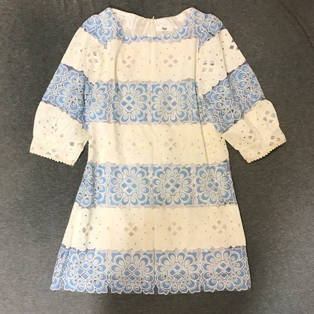 降價📉Boho chic 鏤空蕾絲氣質小洋裝