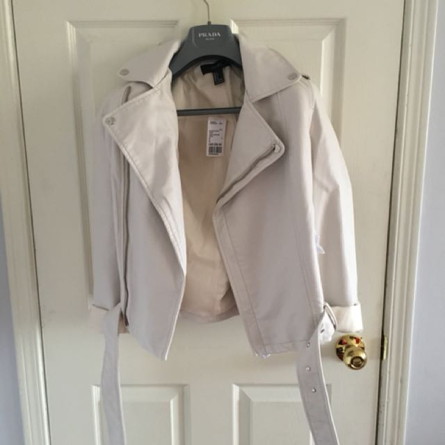 Brand New forever 21 leather jacket
