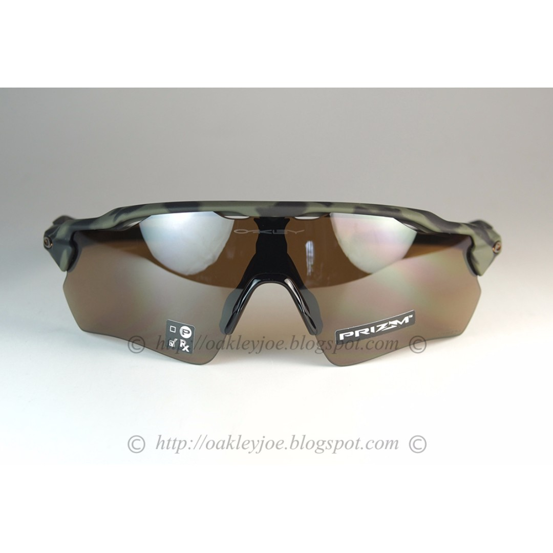 3b7e1b96686e9 ... discount brand new oakley radar ev path olive camo prizm tungsten  oo9208 5438 mens fashion accessories