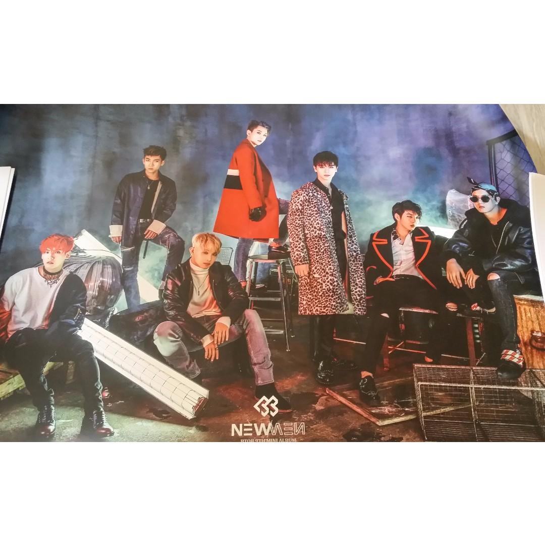 BTOB New Men Poster