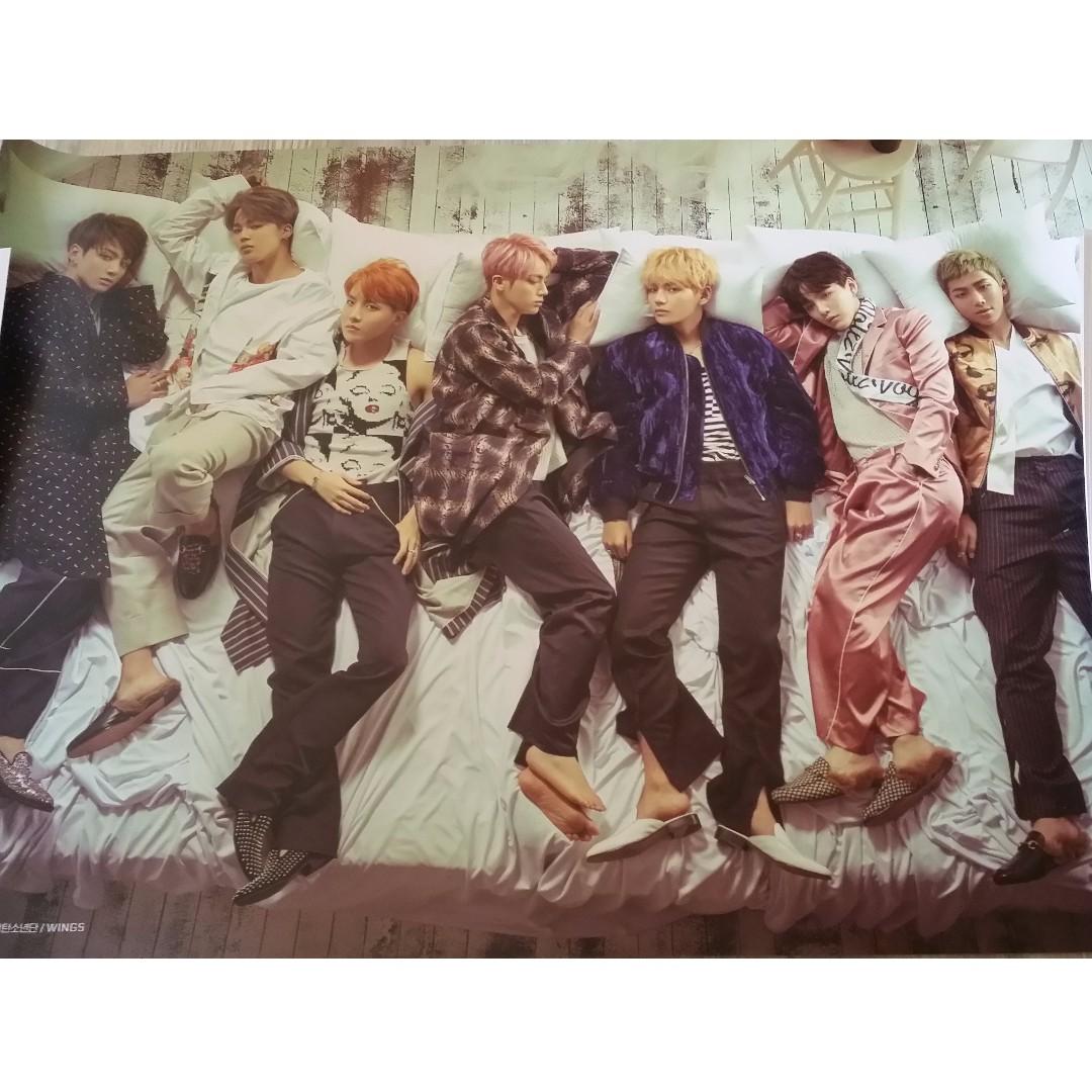 BTS Wings Posters