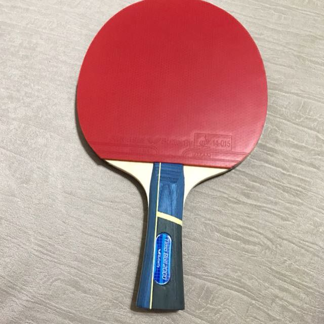 Butterfly Table Tennis Racket Sports Sports Games Equipment On Carousell