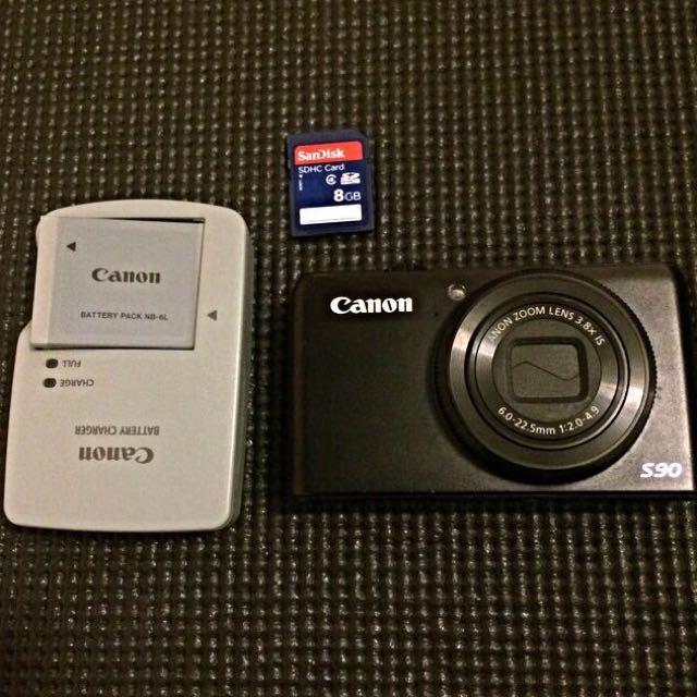 二手📷CANON類單眼相機Powershot S90