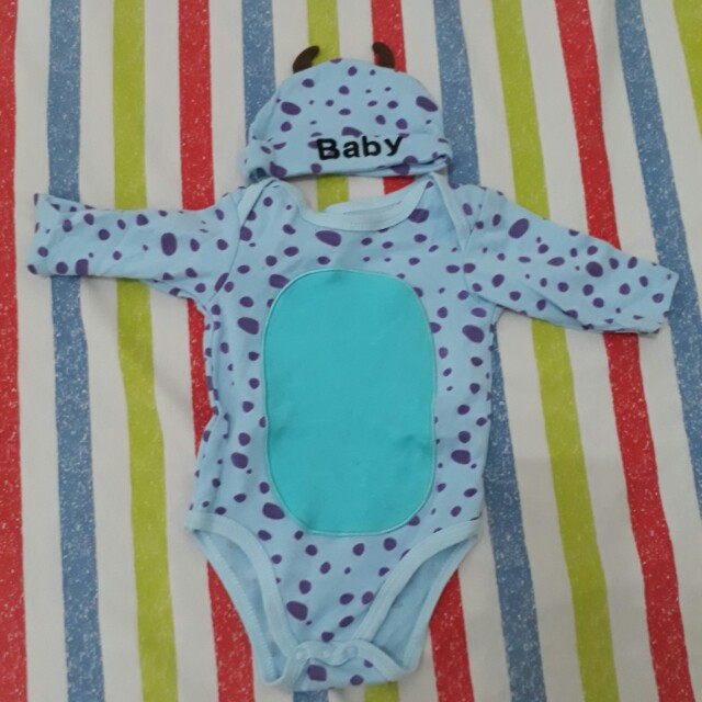 Carter's Sully costume onesie with cap