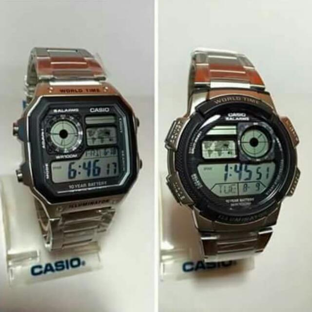 CASIO WORLD TIME ILLUMINATOR