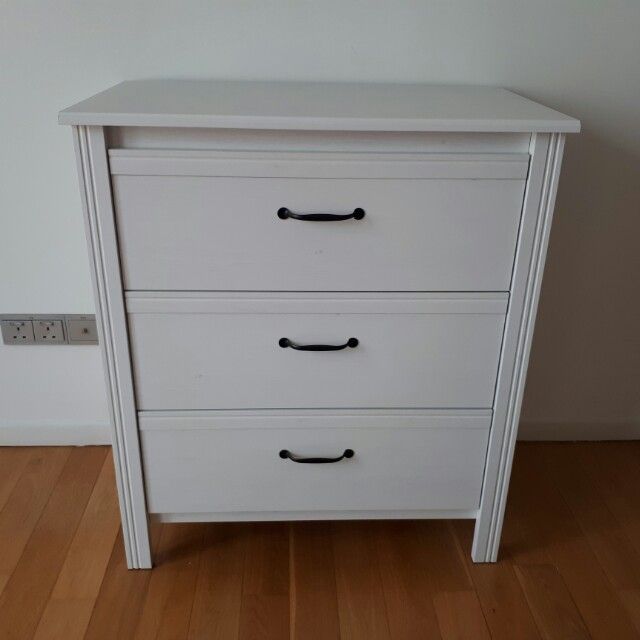 sneakers for cheap d5aff 49a08 Chest Of 3 Drawers (IKEA BRUSALI), Furniture, Shelves ...
