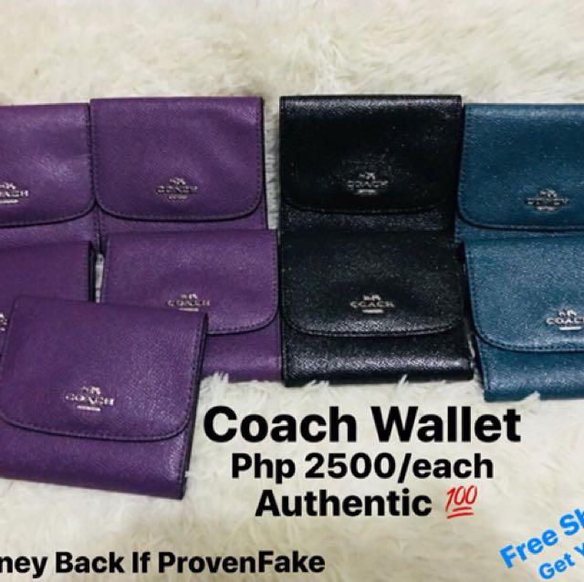 Coach Wallet (Small)