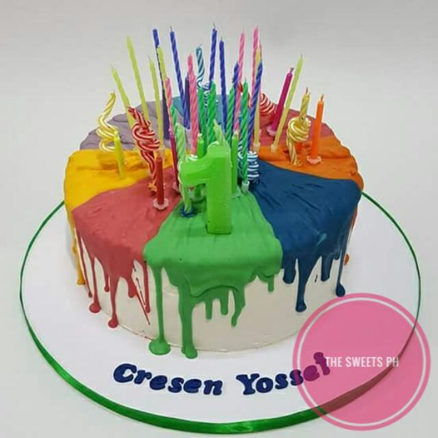 Colorwheel Cake