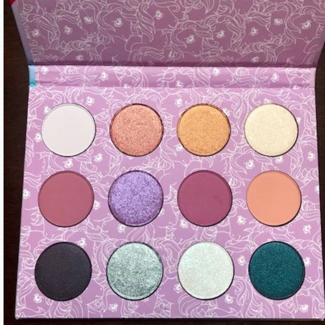 COLOURPOP My Little Pony Eyeshadow Palette BNIB AUTHENTIC With Receipts