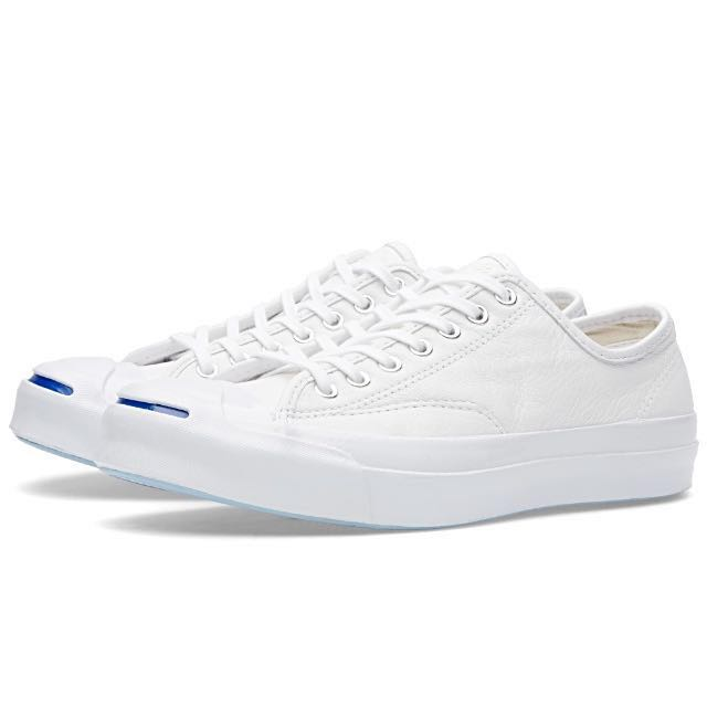 Converse Jack Purcell Signature Leather 皮革 開口笑