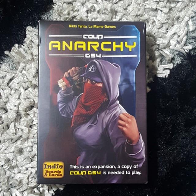 Coup Anarchy CS4