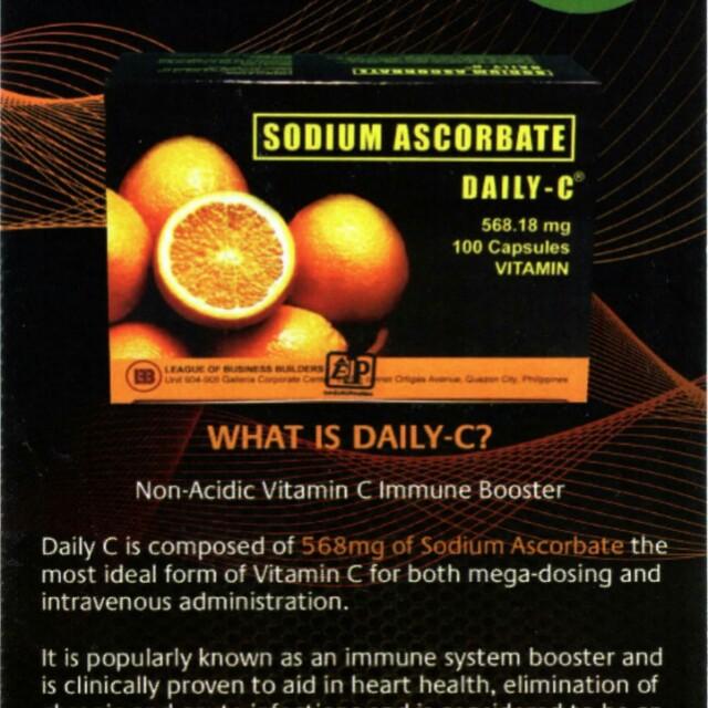 Daily C sodium ascorbate
