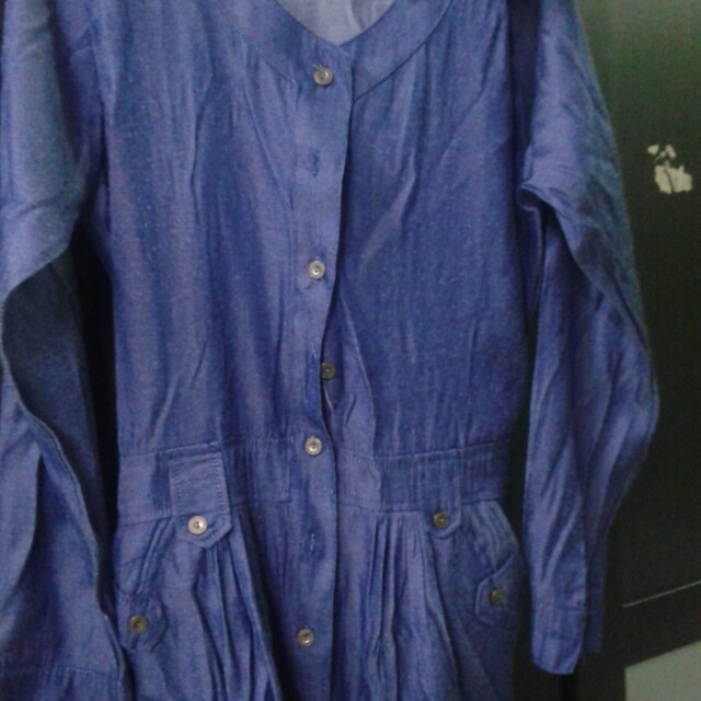 Denim dress no brand