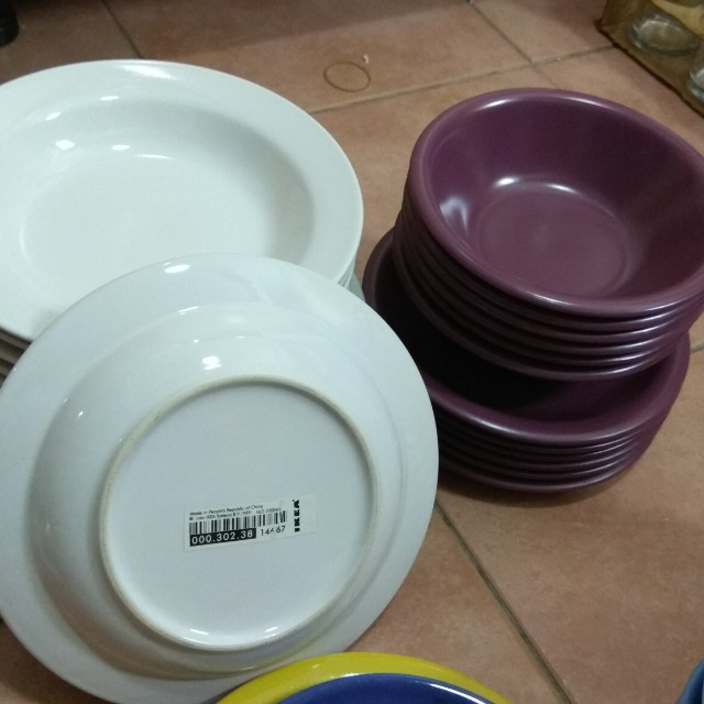 (Reduced price)Dinner & dessert set