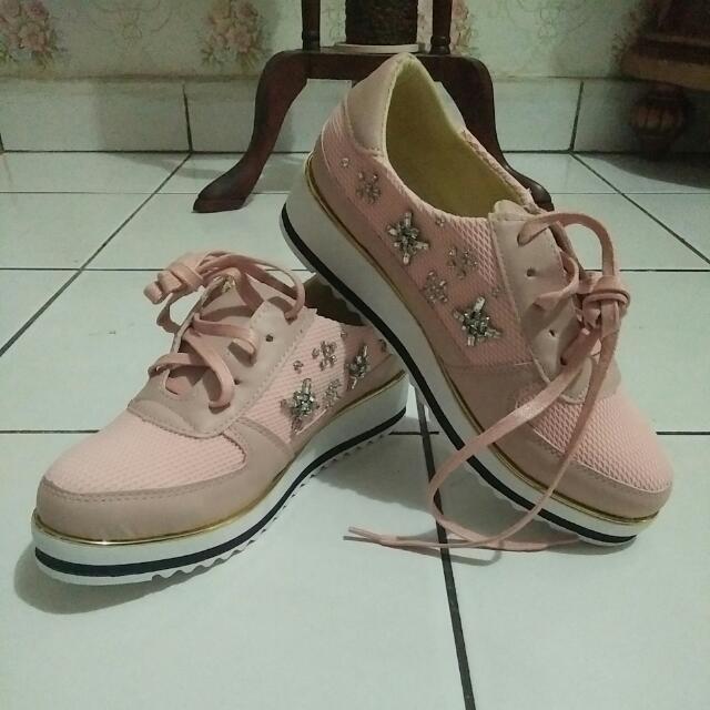 Dior Pink Sneakers