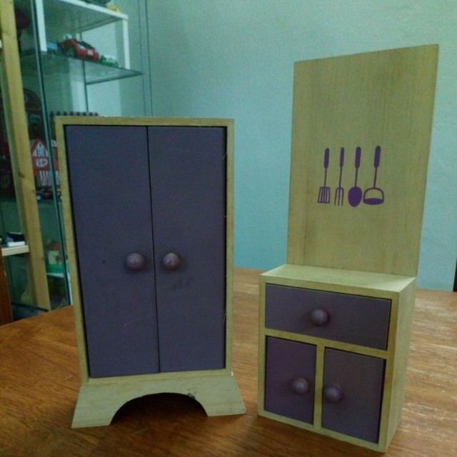 Doll Wooden Furniture Suitable For Barbie