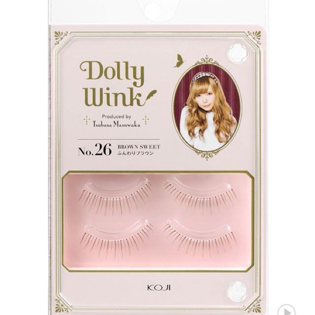 Dolly Wink Eyelash No 26 Brown Sweet Health Beauty Makeup On