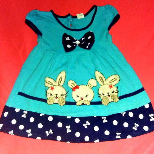 Dress Anak Kaos Katun Tebal