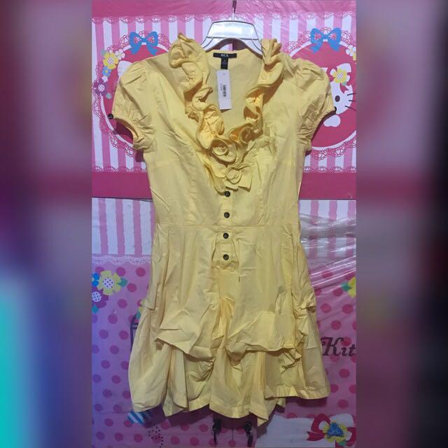 Dress yelow BARU!!