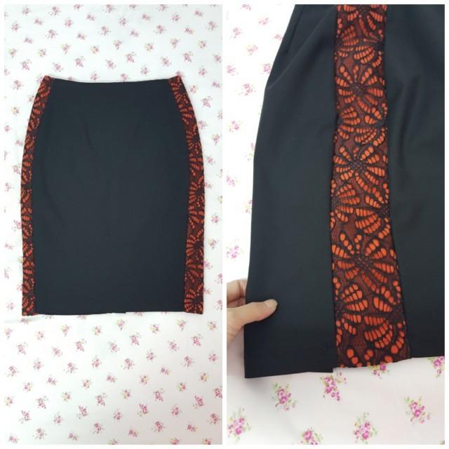 Dual Glam Bodycon Skirt