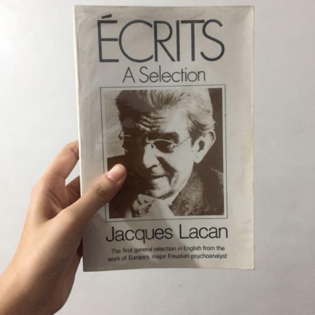 Ecrits: A Selection - Jacques Lacan