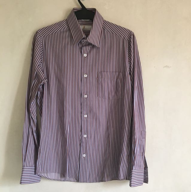 EJ DAD5: ALMOST NEW! AUTH Wallstreet Polo Stripes (xs)