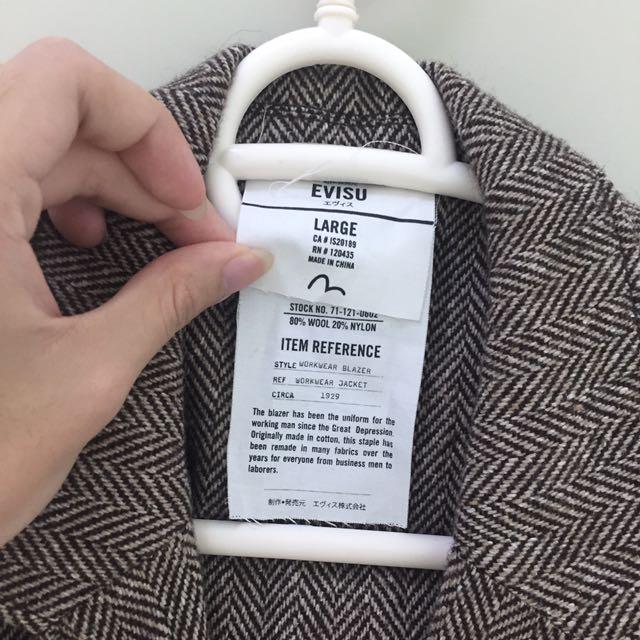 Evisu Workwear Jacket/blazer