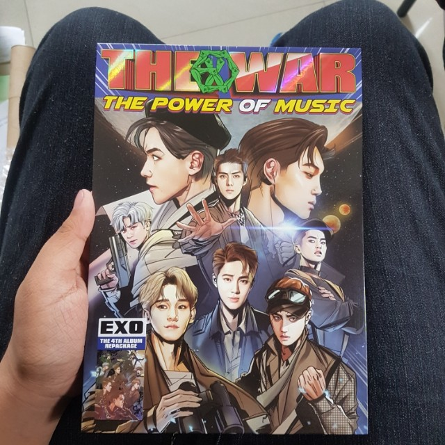 EXO THE WAR: The Power of Music (Repackaged Album)