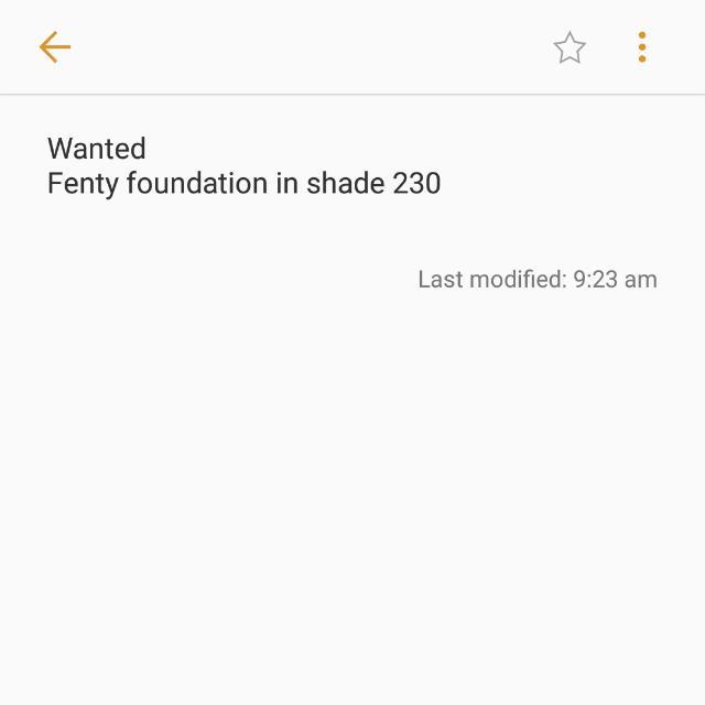 FENTY FOUNDATION 230