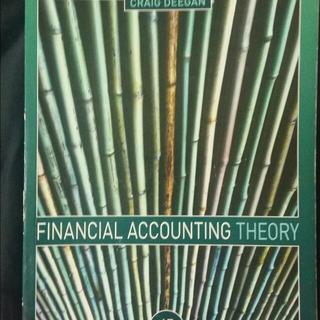 Financial Accounting Theory 4e By Deegan
