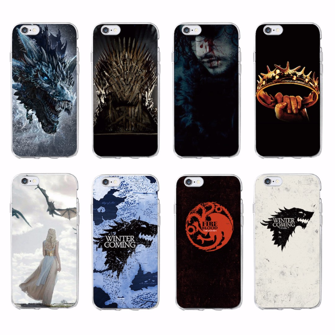 FREE DELIVERY] HBO Game Of Thrones Season 7 Soft TPU Phone Case ...
