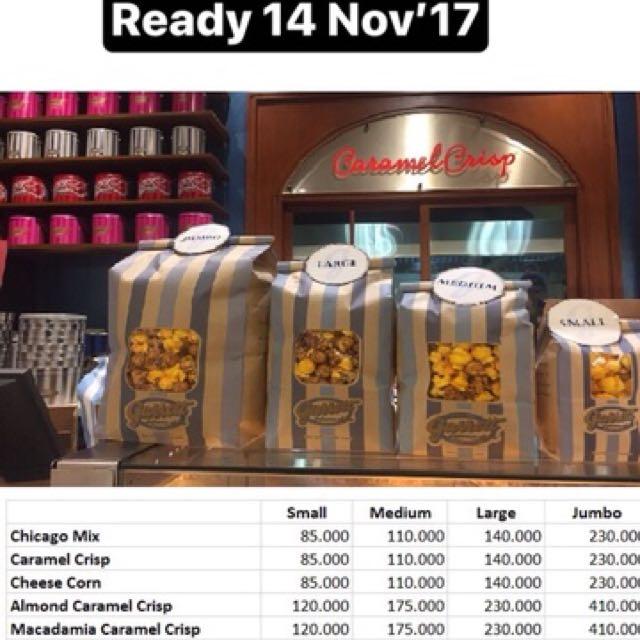 Garret Popcorn - PO Malaysia